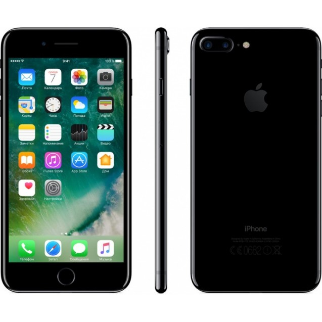 Apple iPhone 7 Plus 256Gb Jet Black (rfb)